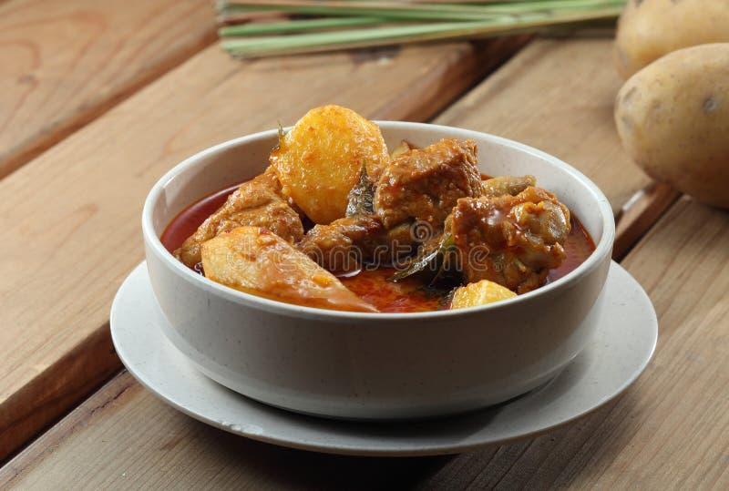 kurczaka curry obraz stock
