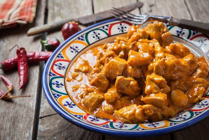 Kurczaka curry obrazy royalty free