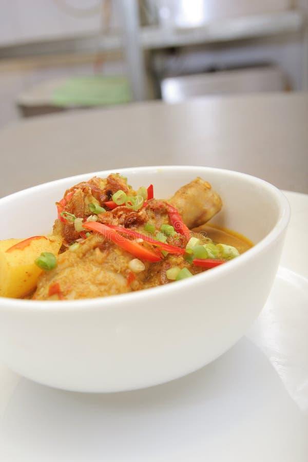 Kurczaka curry'ego Asia jedzenie obraz royalty free