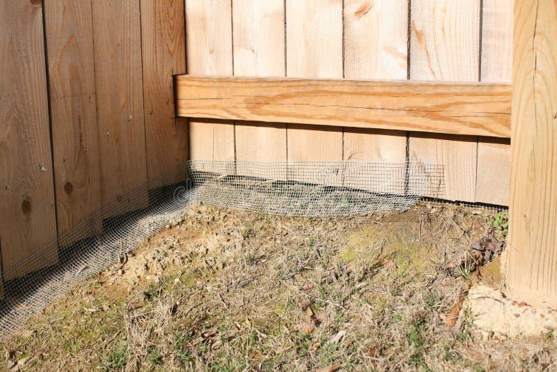 Kurczaka drut na ogrodzeniu obrazy stock