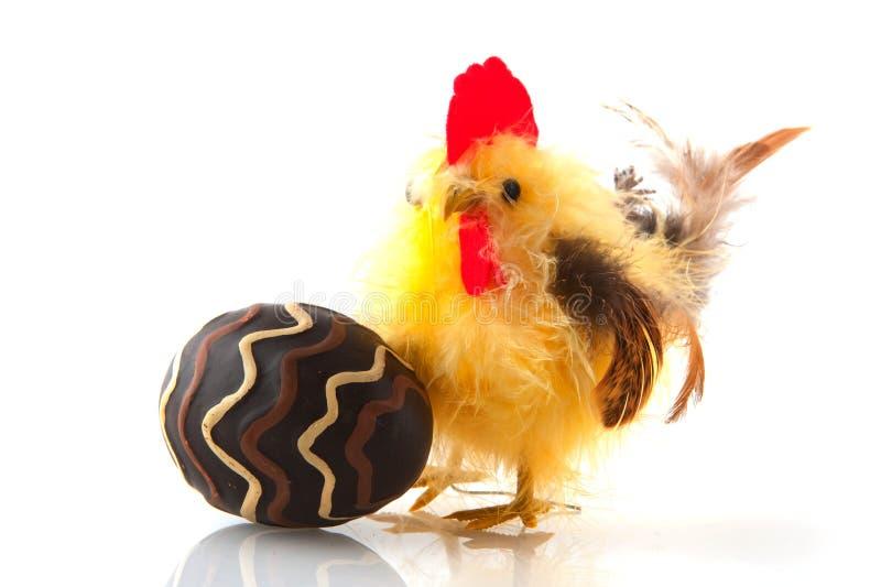 Download Kurczaka Easter jajko obraz stock. Obraz złożonej z czekolada - 13327299
