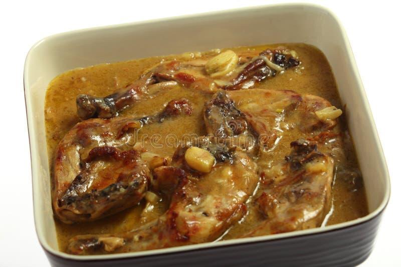 kurczaka kulinarny czosnku nóg cytryny kumberland obrazy royalty free