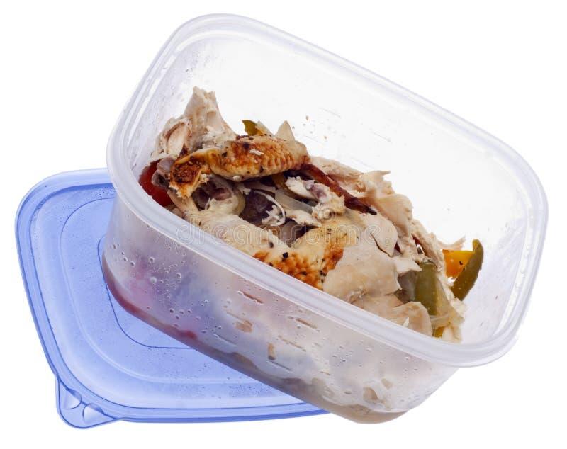 kurczaka leftover piec obrazy royalty free