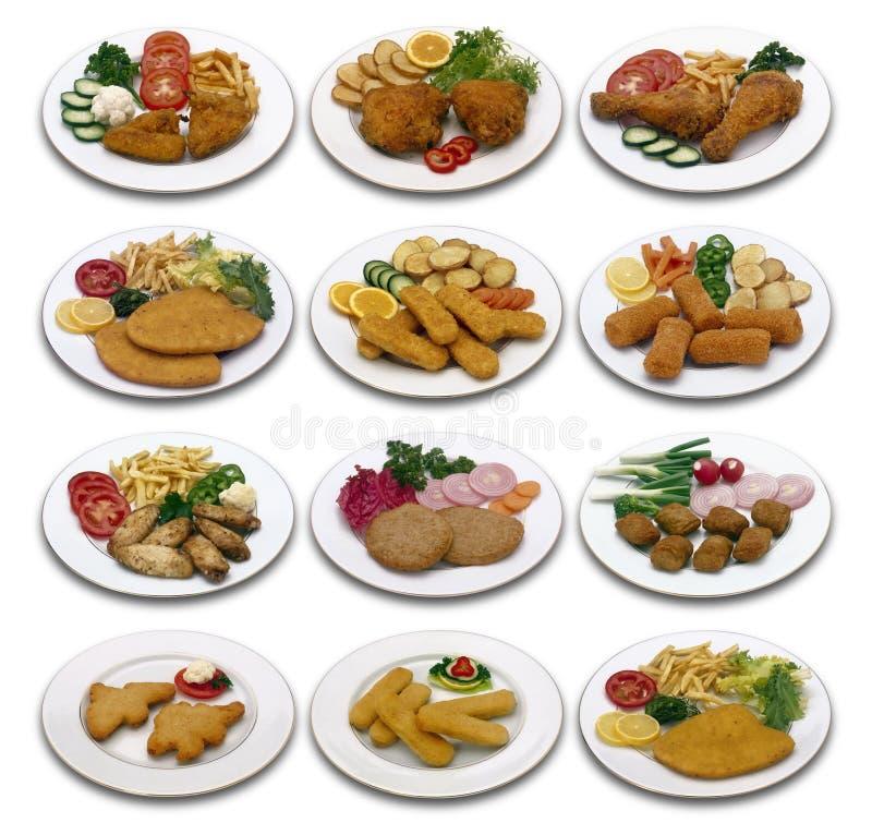 kurczaka menu obrazy royalty free