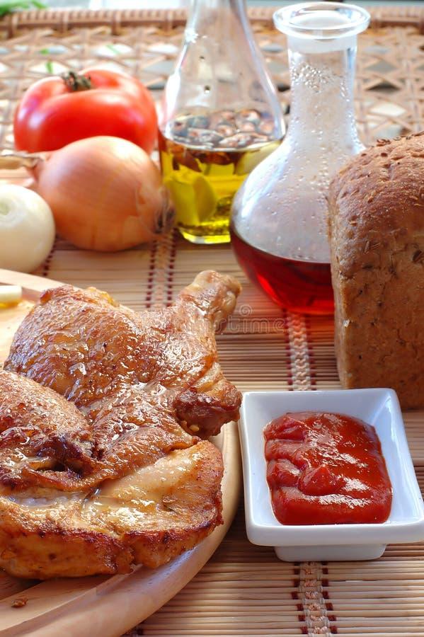 kurczaka pieczeni kumberland zdjęcie stock