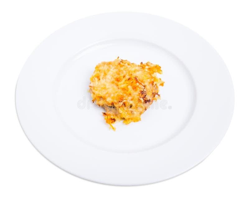 Kurczaka rissole z serem obraz stock