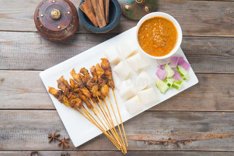 Download Kurczaka satay strzał zdjęcie stock. Obraz złożonej z jedzenie - 53778576