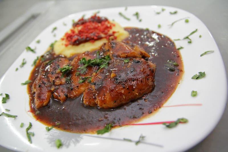 kurczaka stek zdjęcia stock