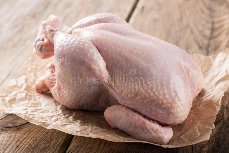 kurczaka surowy świeży obrazy stock