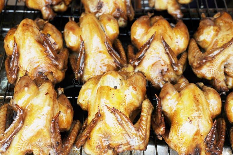 kurczaki piec obraz stock
