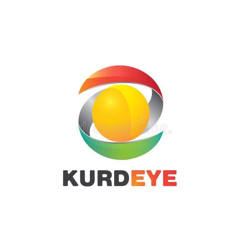 Kurdeye logo arkivfoton