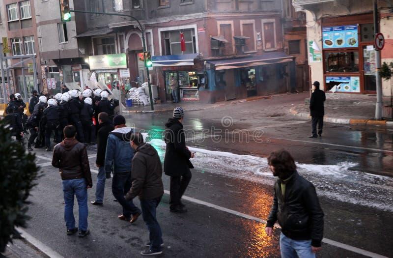 Kurdish Demonstration stock images
