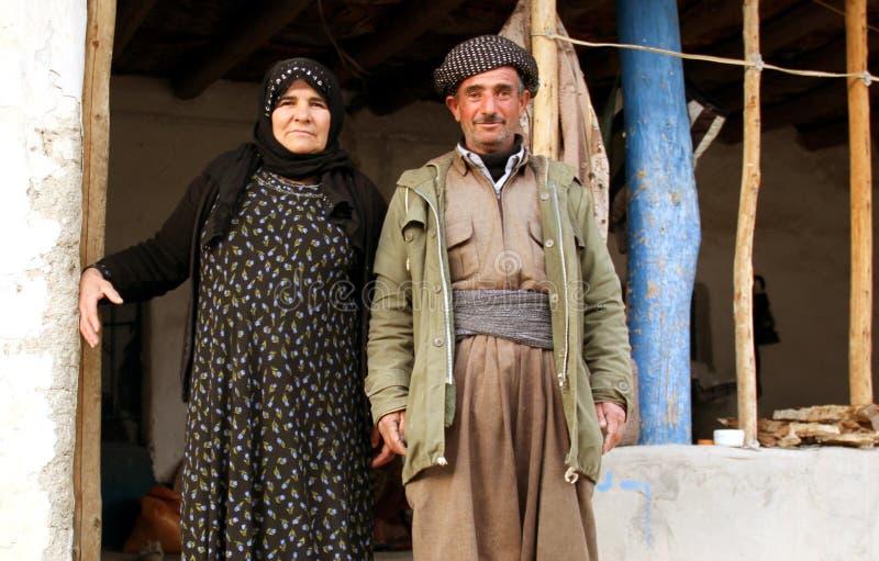 Kurdish family stock photo