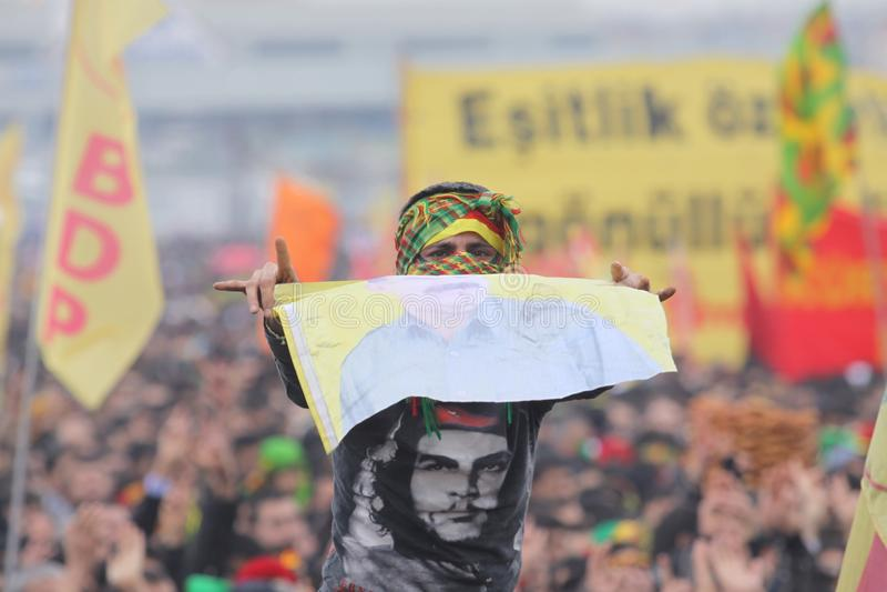 Kurdish Feast Newroz Editorial Stock Photo