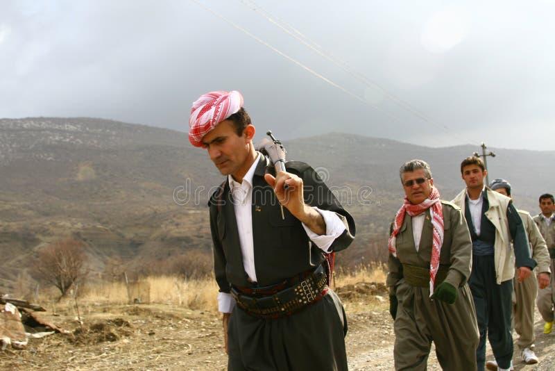kurdistan peshmerga fotografia royalty free