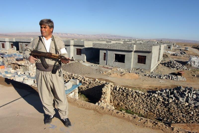 kurdyjski peshmerga obraz royalty free