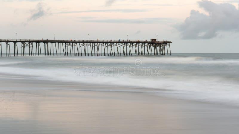 Kure-Strand, North Carolina stockfotografie