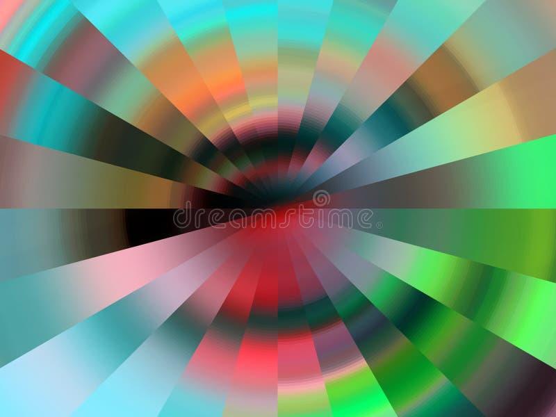 Kurenda zaświeca pastelowego tło, grafika, abstrakcjonistycznego tło i teksturę, ilustracja wektor