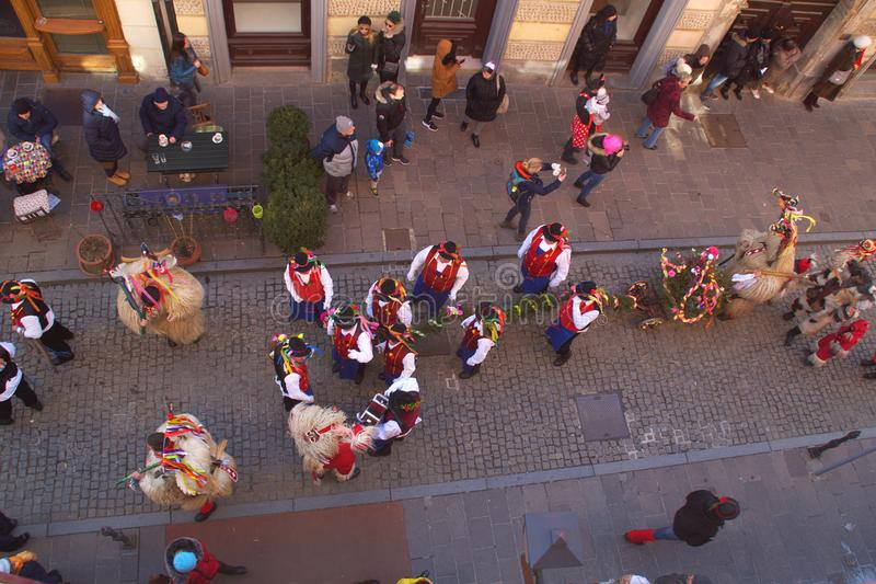 Kurentovanje 2019, Ptuj, Slovenia zdjęcia royalty free