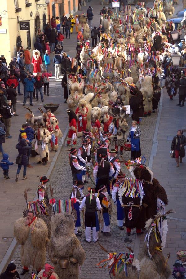 Kurentovanje 2019, Ptuj, Slovenia obrazy royalty free