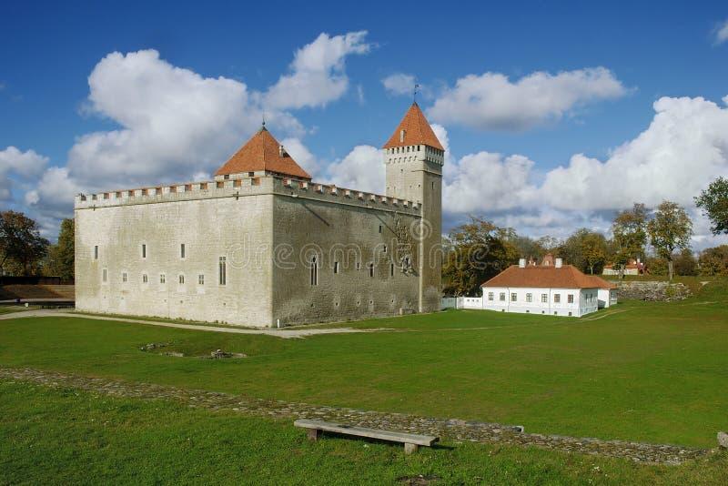 kuressaare крепости стоковое изображение