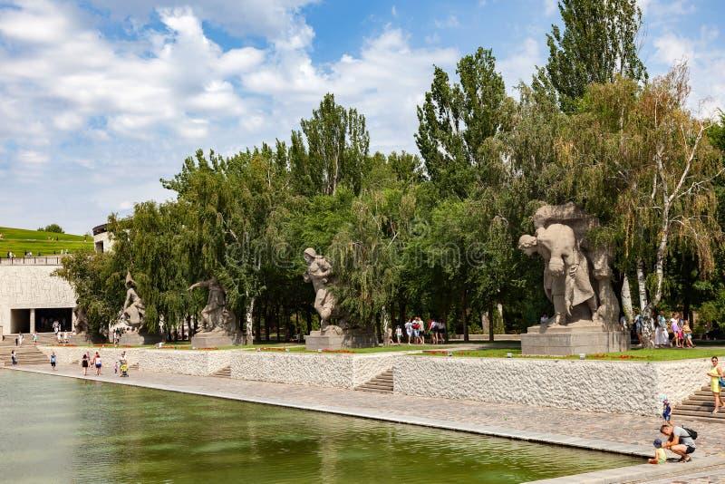 kurgan mamaev στοκ φωτογραφία