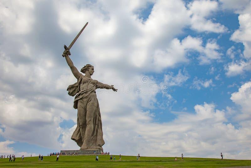 kurgan mamaev στοκ φωτογραφίες με δικαίωμα ελεύθερης χρήσης