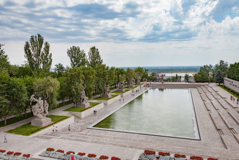 kurgan mamaev στοκ φωτογραφίες