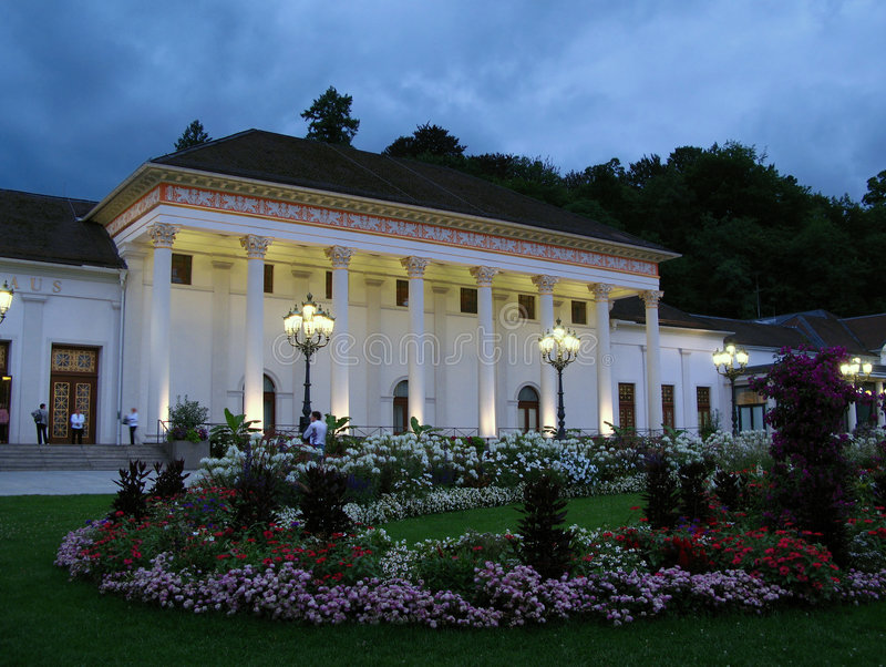 Kurhaus, Baden-Baden, Germany stock images