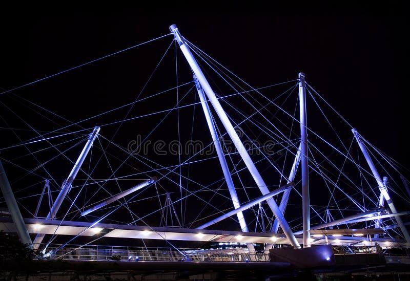 kurilpa bridżowi światła zdjęcie royalty free