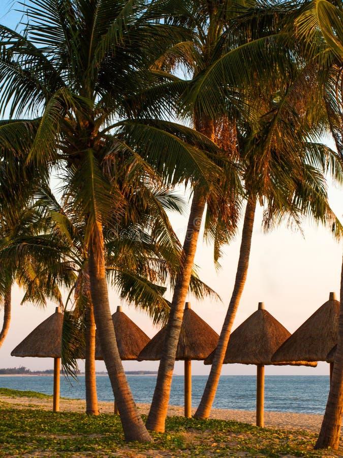 Kurort plaża obraz royalty free