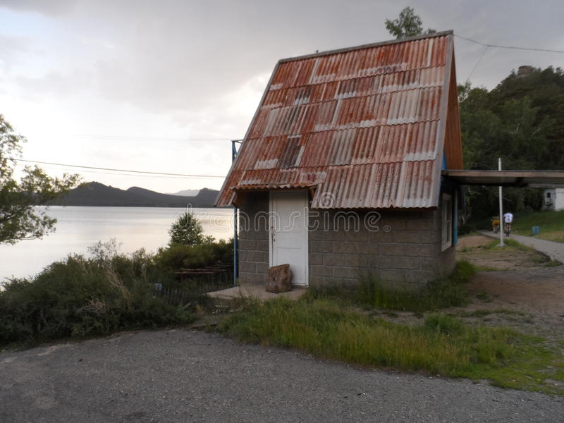 Kurort strefa Borovoe zdjęcie royalty free