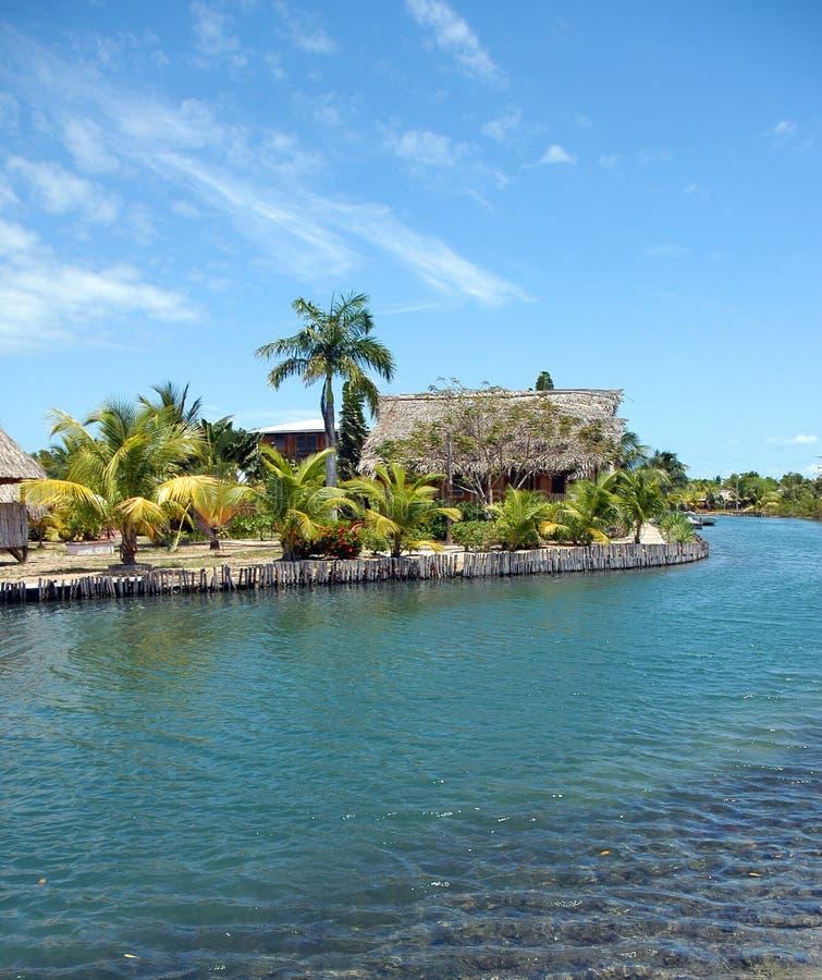 kurort tropikalny fotografia stock