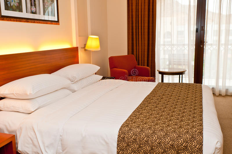 kurortu hotelowy pokój zdjęcia royalty free