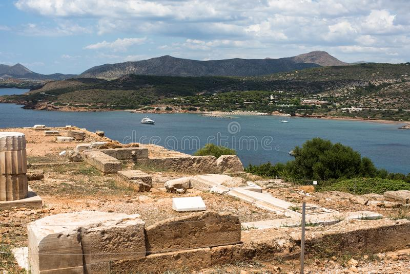 Kurorty Grecja fotografia stock