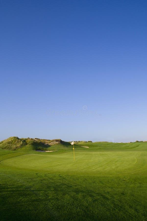 kurs golfa green obraz stock