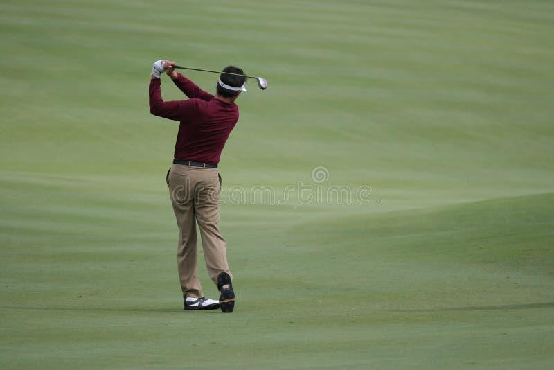 kurs golfa Valderrama Hiszpanii fotografia stock