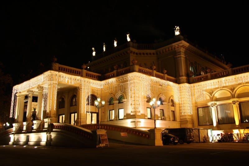 Kursalon in Vienna - Austria - at night