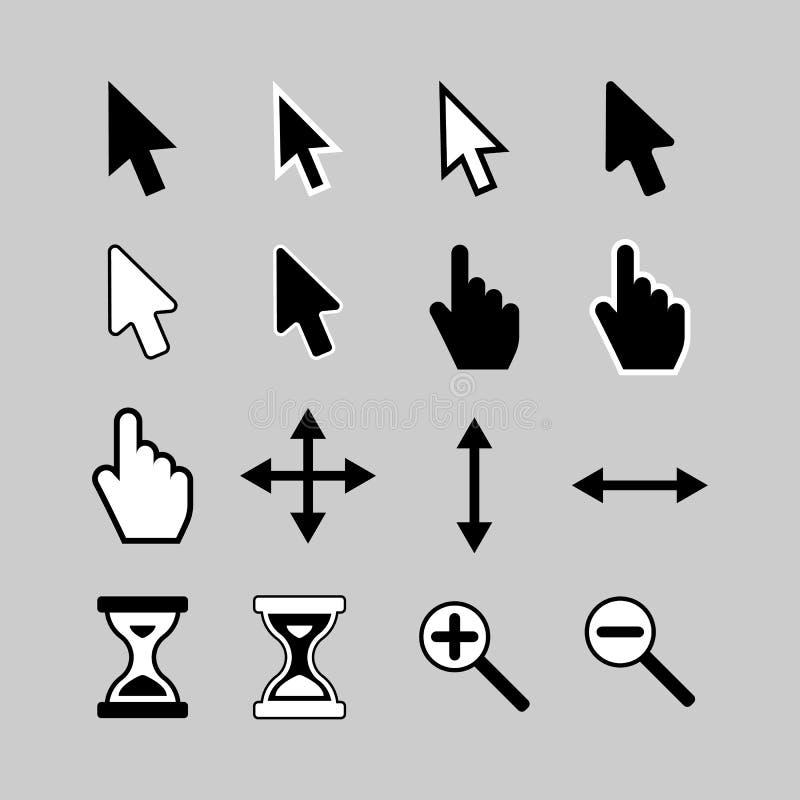 Kursor ikony obrazy royalty free