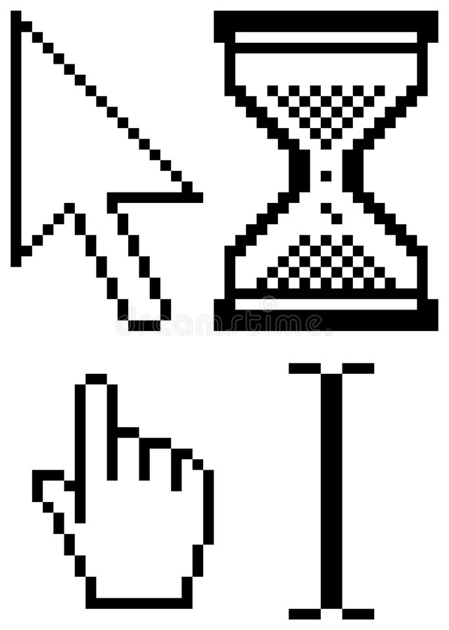 kursory royalty ilustracja