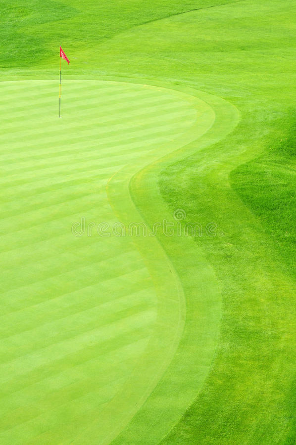 kursowy golf obrazy royalty free