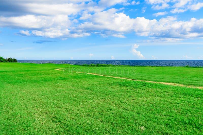 kursowy golfowy podlewanie obrazy royalty free