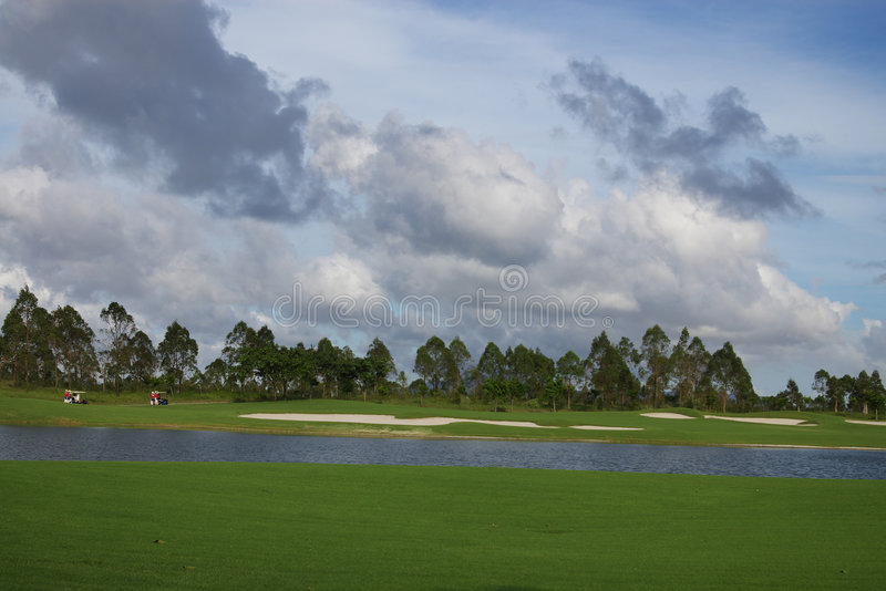 kursu golf obraz royalty free