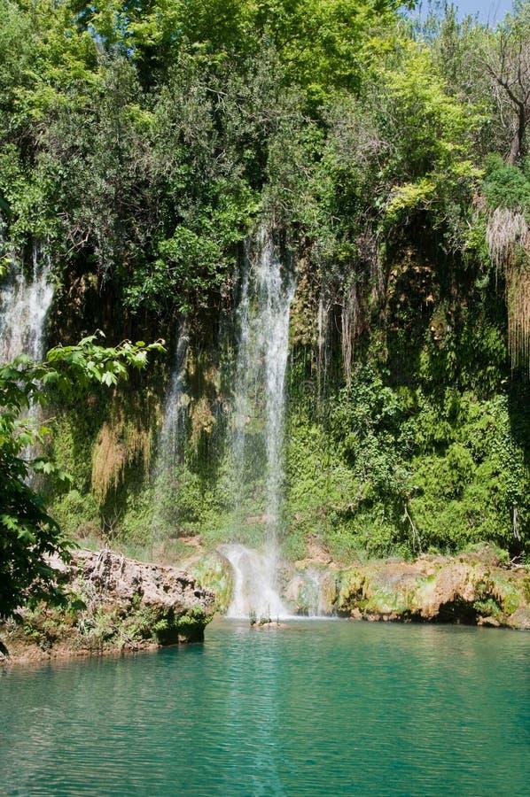 Kursunlu siklawa, Antalya (Turcja) zdjęcie royalty free