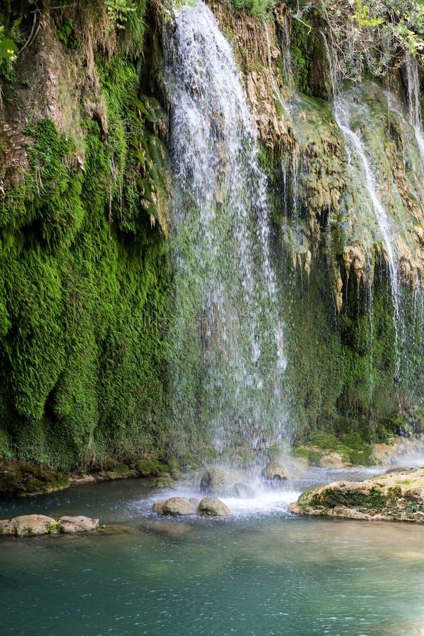 Kursunlu siklawy natury park blisko Antalya zdjęcia royalty free