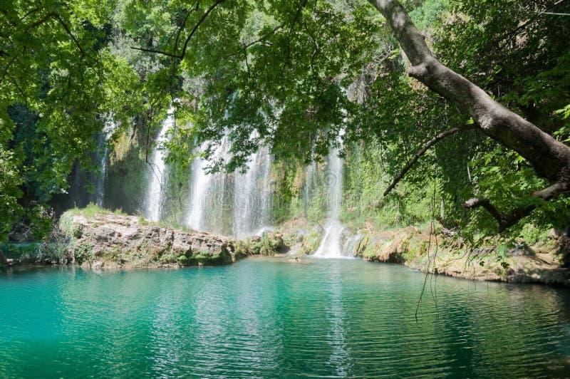 Kursunlu Waterfall, Antalya (Turkey) royalty free stock photos
