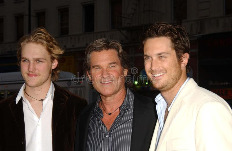 Download Kurt Russell, Oliver Hudson Editorial Photography - Image: 20854082
