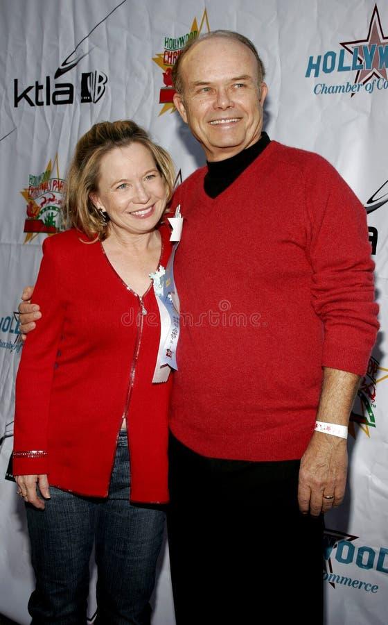 Kurtwood史密斯和黛布拉Jo Rupp 库存图片