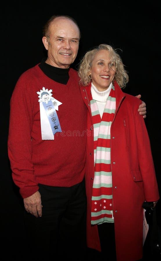 Kurtwood Smith und Debra Jo Rupp lizenzfreie stockfotos