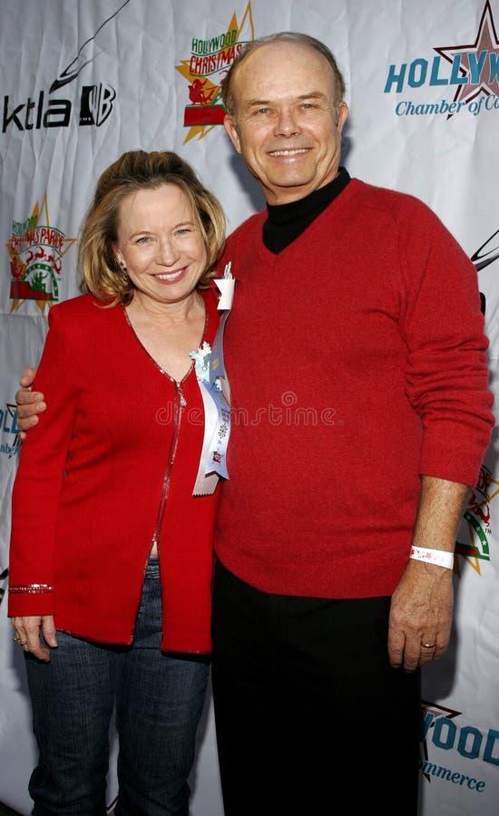 Kurtwood Smith und Debra Jo Rupp lizenzfreies stockbild